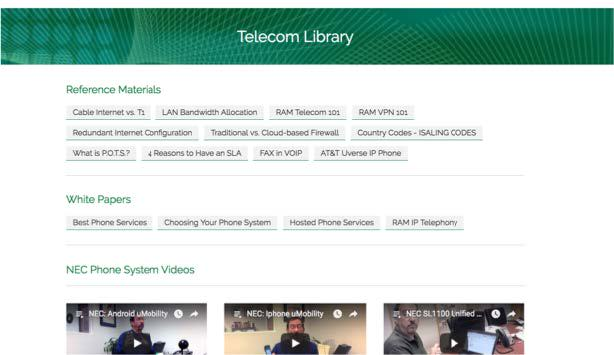 Telecom Library
